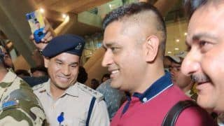 'Start The Whistles' - MS Dhoni Gets Rousing Reception As he Arrives in Chennai For IPL 2020