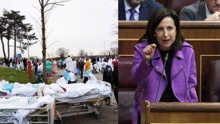 स्पेन: अस्पतालों में कोरोना संक्रमित लाशों के बीच रहते पाए गए लोग, जांच शुरू