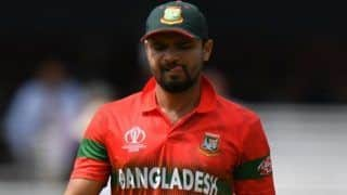 Bangladesh's Mashrafe Mortaza to Step Down From Captaincy After Zimbabwe ODI Series