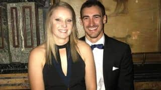 Starc Leaves SA Tour Midway to Cheer for Wife in T20 WC Final