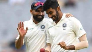 India vs new zealand 2nd test jasprit bumrah mohammad shami magic helps bowled out new zealand at 235 3957759