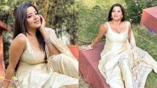 Bhojpuri Hot Bomb Monalisa's Sultry Pictures in Off-white Salwar-suit Will Set Aside Your Tuesday Blues