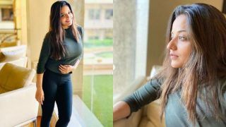 Bhojpuri Hot Bomb Monalisa Asks Fans to 'Be Positive' Amid Coronavirus Scare, Shares Sultry Pictures in Casual Wear