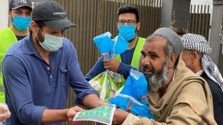Coronavirus Pademic: Shahid Afridi Earns Harbhajan Singh's Praise For Helping Poor And Needy During COVID-19 Crisis, India Spinner Says 'Great Work For Humanity'