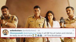 Sooryavanshi Trailer Twitter Reaction: Netizens Vow 'Records Will Not be Broken But Shattered' by Akshay Kumar Starrer