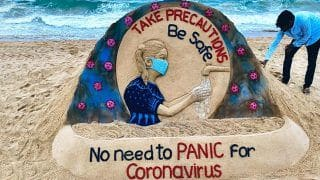 Trending News Today March 05, 2020: Renowned Artist Sudarsan Pattnaik Creates Sand Art to Spread Awareness About Coronavirus