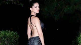 Sunny Leone Flaunts Her Bare Back in Sexy Backless Black Dress, Her Sultry Picture is Breaking The Internet