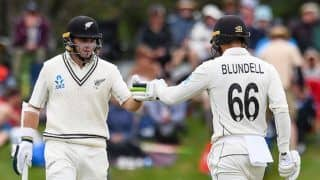 Ind vs nz 2nd test lunch report team india bowled out at 124 new zealand need 86 runs to win 3958527