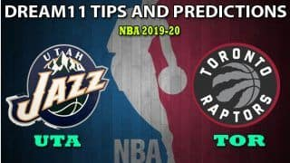 UTA vs TOR Dream11 Team Prediction, NBA 2020: Captain And Vice-Captain, Fantasy Basketball Tips Utah Jazz vs Toronto Raptors at Vivint Smart Home Arena 6:30 AM IST