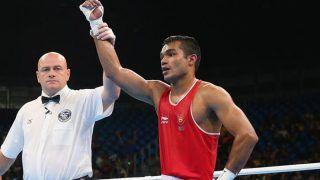 Boxing: Olympic-Bound Vikas Krishan, Simranjit Kaur Enter Final of Asian Qualifiers; Mary Kom Settles For Bronze