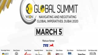 WION Global Summit 2020 in Dubai on March 5   Click Here For More Details