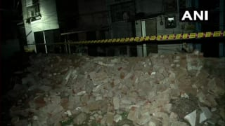 Two Dead, One Injured as Model Eye Hospital Wall Collapses in Delhi's Lajpat Nagar