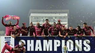 Sl vs wi 2nd t20i andre russell hit 40 off 14 west indies clean sweap sri lanka 2 0 3963374