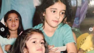 Birthday Post: Ananya Panday Wishes Her Sister Rysa Panday With Cute Childhood Pictures