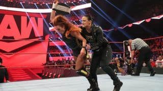I'll Show Becky What Happens When Reality Hits: Shayna Baszler Ahead of Title Match at WrestleMania