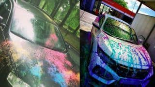 Holi 2020: Tips And Tricks to Keep Your Car And Bike Away From Colour Stain This Holi