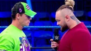WWE SmackDown Results: Jeff Hardy Returns, Wyatt and Cena Confront Each Other at Empty Performance Center