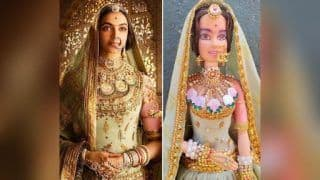 Deepika Padukone Gets a Doll Version of Her 'Padmaavat' Character, The Resemblance is Uncanny