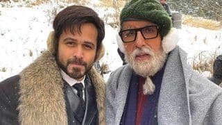 Emraan Hashmi on Being a Fan of Amitabh Bachchan: I Wouldn't Sit Down to Eat Unless Sholay or Mr Natwarlal Played