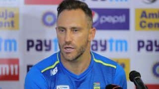 South Africa Recall Faf du Plessis For Home Series Against England