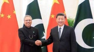 Pakistan President Shakes Hands With Xi Jinping, Photo Goes Viral; Foreign Minister Under Home Isolation