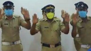 Corona के कहर के बीच वायरल हुआ हैंडवॉश डांस, केरल पुलिस ने भी नाचकर धोए हाथ, देखें वीडियो