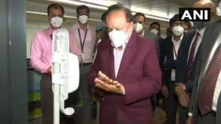 'Public-Private Sectors Must Come Together to Combat Coronavirus,' Says Health Minister Harsh Vardhan