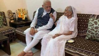 प्रधानमंत्री मोदी की मां ने सालों में बचाए 25 हजार रुपए PM CARES Fund फंड में किए दान