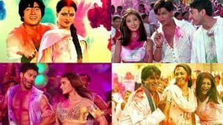 Holi 2020: Top Bollywood Playlist to Make You Dance Like There's no Tomorrow