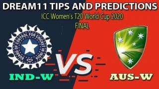 IN-W vs AU-W Dream11 Team Prediction, ICC Women's T20 World Cup 2020, Final: Captain And Vice-Captain, Fantasy Cricket Tips India Women vs Australia Women at Melbourne Cricket Ground, Melbourne 12:30 PM IST