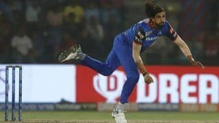 Ishant Injured During Training, to Miss Capitals Opener
