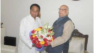 Madhya Pradesh Government to Face Floor Test Tomorrow as Governor Lalji Tandon Issues Orders