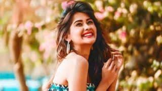 Kanchi Singh's Glamorous Avatar in Summery Blue Tube-Top Will Leave You Smitten