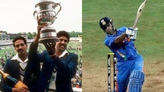 Relive India's Cricket World Cup Wins – From Kapil's Devil's 1983 Upset to MS Dhoni's Victory March in 2007 and 2011