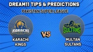 Dream11 Team Prediction Cricket KAR vs MUL, PSL: Captain And Vice-Captain, Fantasy Cricket Tips Karachi Kings vs Multan Sultans, Gadaffi Stadium, Lahore, 7:30 PM IST