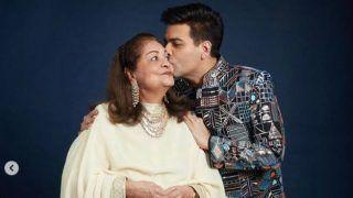 Karan Johar's Emotional Birthday Post For Mommy Hiroo Johar, Calls Her 'Big Love Story of My Life'
