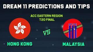 Dream11 Team Prediction HK vs MAL, ACC Eastern Region 2020: Captain And Vice-Captain, Fantasy Cricket Tips Hong Kong vs Malaysia Terdthai Cricket Ground, Bangkok 12:00 PM IST