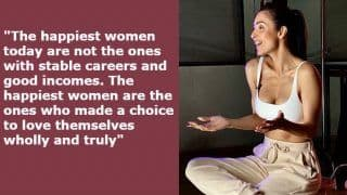 Malaika Arora Asking Women to Choose Happiness And Move Past Tears in Her Women's Day Post is Important
