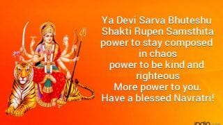 Happy Chaitra Navratri 2020: Send Quotes, WhatsApp Messages, SMS, Facebook Greetings to Loved Ones This Navratri