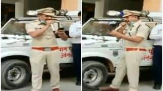 'Sanitizer Lagana Hai, Haath Dho Ke Hi Jaana Hai': Cop Gives Coronavirus Twist to Bollywood Song | Watch