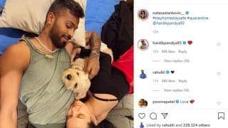 Coronavirus Pandemic: Natasa Stankovic Shares Picture of Self-Isolation With Hardik Pandya and Their Dog