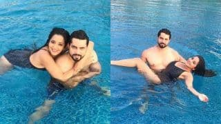Bhojpuri Bomb Monalisa Looks Smouldering Hot in Black Bikini, Shares Throwback Pictures With Hubby Vikrant Singh Rajpoot