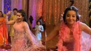 Bhojpuri Sizzler Monalisa Flaunts Her Hot Dance Moves on 'Mera Naam Chin Chin Choo', Looks Her Sexiest Best in Sheer Pink Saree