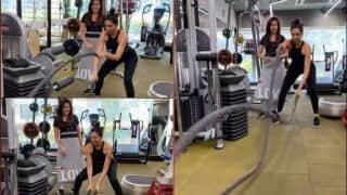 Deepika Padukone's 'Lungi Dance' During Fat-Burning Battle Ropes Workout at Gym is Fitness Goals