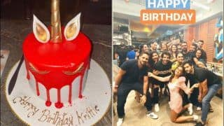 Krystle D'Souza Rings in 30th Birthday With Fittrat Co-Stars, Check Inside Pictures And Videos