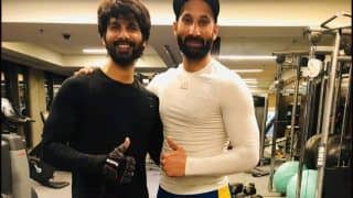 Jersey Star Shahid Kapoor Leaves Former Hockey Player Sardar Singh Smitten With Gym Workout