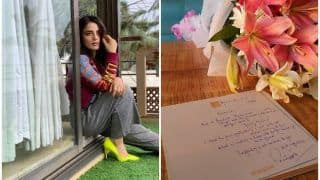 महानायक अमिताभ बच्चन ने राधिका मदान को भेजा हाथ से लिखा खत और फूल,  'अंग्रेजी मीडियम' में की एक्टिंग की सराहना