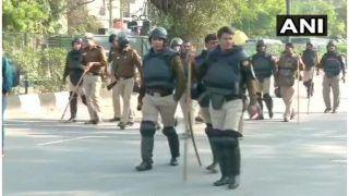 शाहीन बाग में चल रहे विरोध प्रदर्शन के बीच धारा 144 लागू, भारी पुलिस बल तैनात