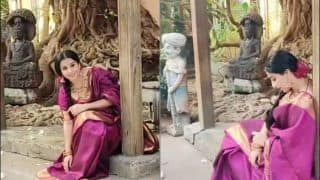 Vidya Balan's Monday Mood in Elegant Kanjivaram Saree Leaves Fans Smitten | Check Videos