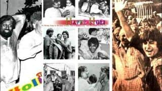 Amitabh Bachchan Smears Internet With Nostalgia, Recalls 'Best Holi' With Jaya Bachchan-Raj Kapoor-Shammi Kapoor And Others